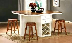 kitchen island bar height kitchen island table with stools bar height kitchen table bar