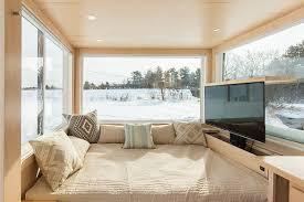 tiny homes interiors 160 square customizable tiny home boasts a beautiful