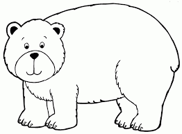 amazing lovely bear coloring pages preschool intended