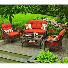 Outside Cushions Patio Furniture Replacement Cushions For Patio Sets Sold At Walmart Garden Winds