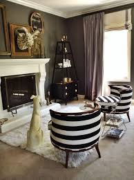 Striped Living Room Chair Striped Chairs Living Room Home Design Plan
