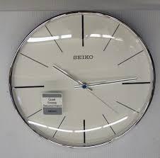 seiko quiet wall clocks