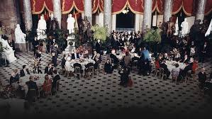 inaugural luncheon head table 3 presidential inaugural luncheons then and now