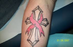 30 stunning cancer ribbon tattoos creativefan