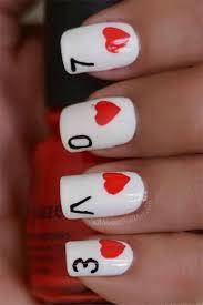 inspiring love valentine u0027s day nail designs u0026 ideas 2014