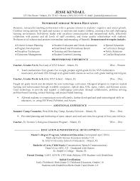 Substitute Teacher Cover Letter Samples Teacher Resume Examples Teacher Resume Resume Sample Objectives