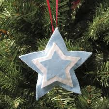 mini star christmas decoration children u0027s craft kits from buttonbag