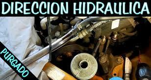 cambio completo de liquido de direccion hidraulica purgado youtube