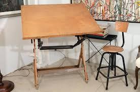 Antique Wood Drafting Table Drafting Table Design U2013 Littlelakebaseball Com