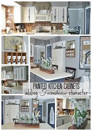 repaint kitchen cabinet painted kitchen cabinets adding farmhouse character the other
