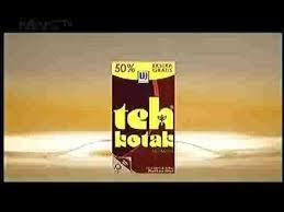Teh Kotak iklan teh kotak 2016