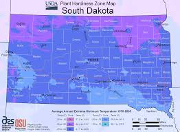 Map South Dakota South Dakota Plant Hardiness Zone Map U2022 Mapsof Net