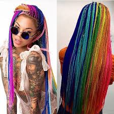 hair style with color yarn best 25 colored braids ideas on pinterest tumblr braids summer