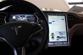 suv tesla inside tesla drivers don u0027t care about the model s u0027s tablet internet