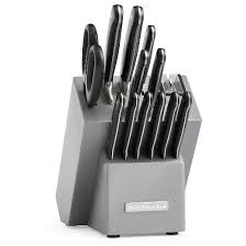 cutlery kitchen knives kitchenaid classic forged 14 rivet cutlery set