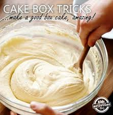 Where To Buy Cake Box 10 Ways To Make A Boxed Cake Mix Taste Amazing Boxed Cake Cake