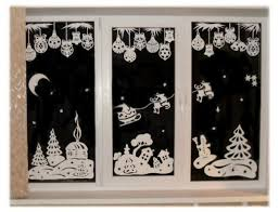 White Paper Christmas Decorations To Make by Window Paper Decoration Paper Cutting For Christmas1 In Window