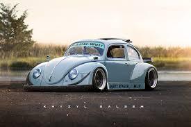 stanced volkswagen beetle rwb beetle cars pinterest cars beetles and volkswagen