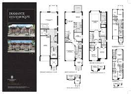 Vaughan Mills Floor Plan Renaissance Townes In Vaughan On Prices U0026 Floor Plans
