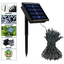 Solar Power Traffic Lights by Amazon Com Outdoor String Lights Rockbirds 72ft 22m 200 Solar