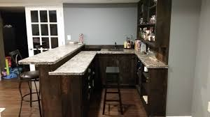 kitchen countertop bar counter standard height attractive