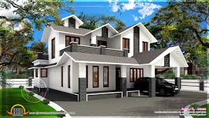 1700 sq ft house plans 1700 square feet sloping roof villa kerala home design and floor