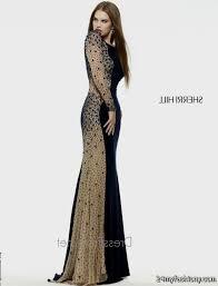 All Black Prom Dress All Black Long Sleeve Prom Dress Dressed For Less
