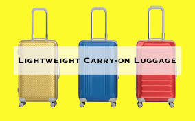travel luggage images The best lightweight luggage for traveling travel leisure jpg