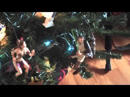 star wars christmas tree and decorations collection youtube