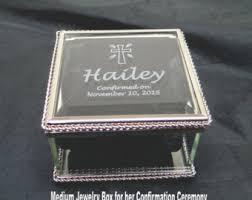 communion jewelry box rosary box etsy