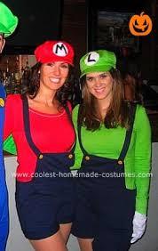 coolest homemade female mario and luigi costumes luigi costume