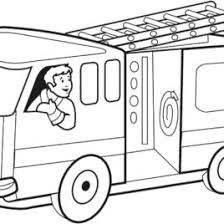 free printable fire truck coloring pages for kids fire truck