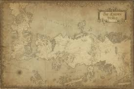 Map Of Essos No Spoilers Map Of The Known World Please Give Comments