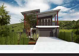home design building blocks wellsuited narrow sloping block house designs small suburban