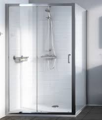 aqualux source 1000mm sliding shower door 1192605