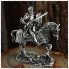 european knights tin samurai warrior doll cavalry soldier
