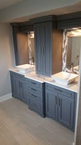 Bathroom Sink With Cabinet by Best 20 Vessel Sink Bathroom Ideas On Pinterest Vessel Sink