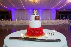 A Chinese And Filipino Inspired Wedding Cake