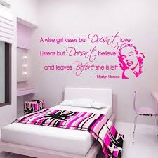 magenta bedroom magenta bedroom magenta a wise girl kisses decal above on a