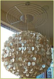 diy shell chandelier large capiz shell chandelier home design ideas