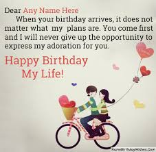 birthday wishes for loved ones
