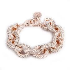rose gold fashion bracelet images Rose gold pave beauty bracelet derng jpg