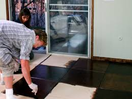 Can You Install Tile Over Laminate Flooring How To Install Plywood Floor Tiles Hgtv