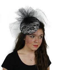 lace fascinator buy cosmopolitan black lace and veiling ascot fascinator hat