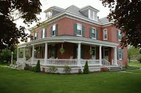 Farmhouse With Wrap Around Porch Like This One Better I Think I U0027d Do Black Shutters Just Not A