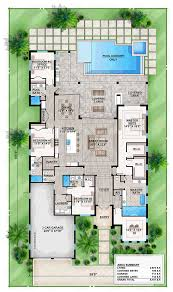 coastal cottage floor plans coastal contemporary florida mediterranean house plan 52911 level