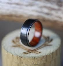 black zirconium wedding bands ironwood lined black zirconium wedding band also available in