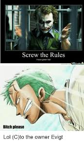 Bitch Please Meme Generator - screw the rules i have green hair bitch please lol cto the owner