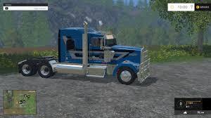 kw trucks kenworth w900l v1 0 fs 2015 farming simulator 2015 15 mod