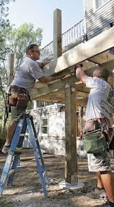 Fine Homebuilding Critical Deck Connections Fine Homebuilding